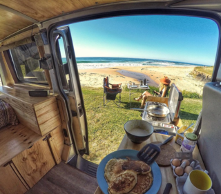9 Adventure Seekers Who Celebrate Small Space Living Through the Van Life - Photo 9 of 10 - Australian adventurer Rob Townsend has been cited by National Geographic for his surf-inspired, van adventuring ways.