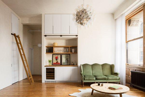 Living Room Photo  of 18th Street Loft modern home