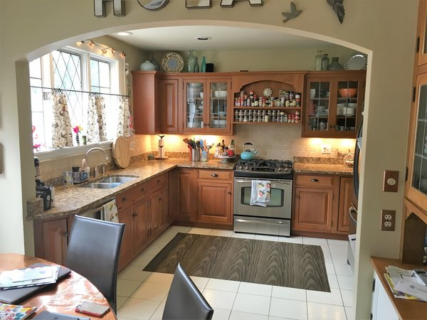 Before photo of the Kitchen Photo 15 of Washington Highlands Home Renovation modern home