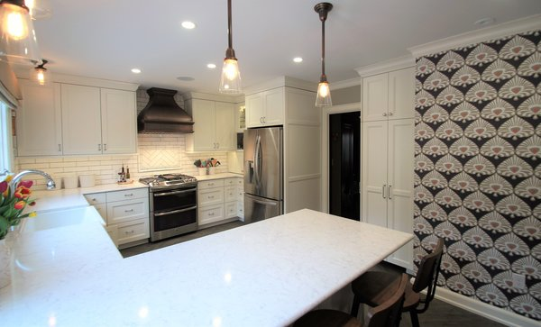 Kitchen remodel Photo 19 of Washington Highlands Home Renovation modern home