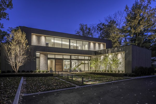 Front View Photo  of Ferndale House modern home