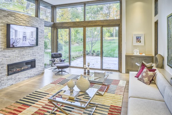 Family Room Photo 12 of Ferndale House modern home