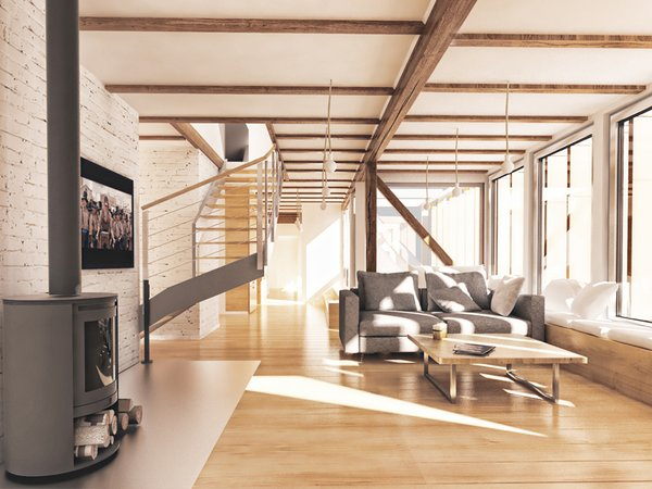 Photo 4 of EXTENSION OF AN APARTMENT ON AN ATTIC modern home