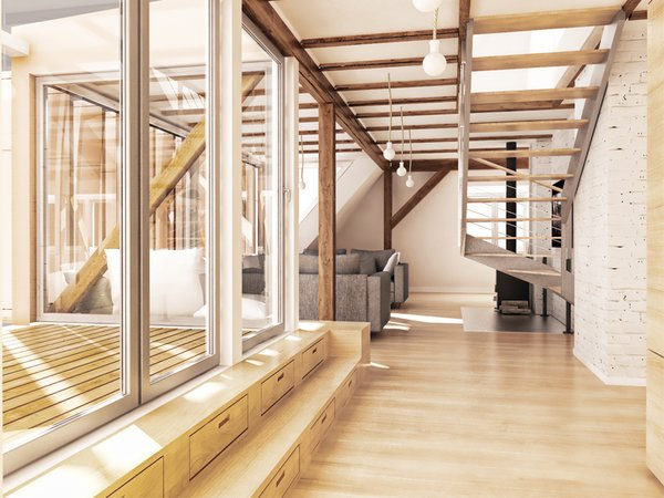 Photo 3 of EXTENSION OF AN APARTMENT ON AN ATTIC modern home