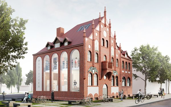 Photo 6 of Town hall in Orunia, Gdansk, Poland modern home