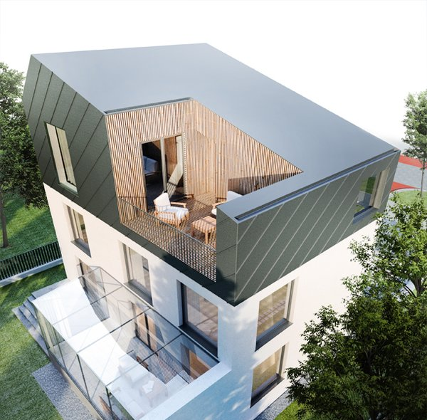 Photo 3 of Froggie (Polish Żabianka) Manor modern home