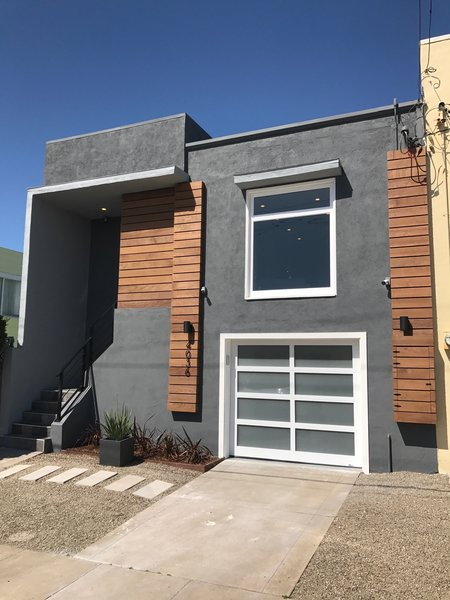Front of Property Photo  of Fully Renovated San Francisco SmartHome modern home