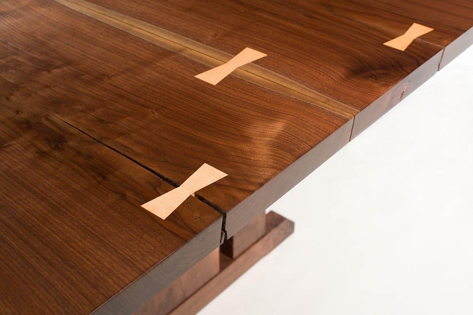 Maple dovetail keys  Tables by Joe Breznick