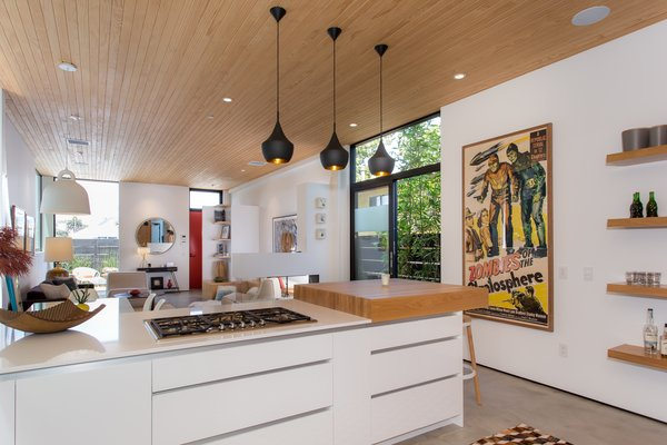 Modern home with rooftop and kitchen. Photo 5 of Quintessential Chic Venice Modern | 308 Grand Blvd, Venice