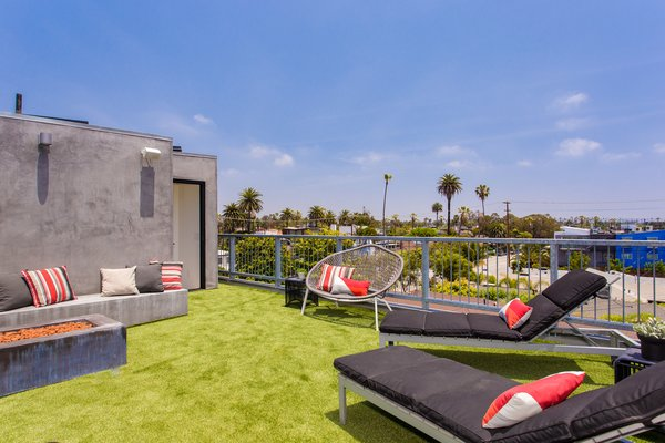 Modern home with outdoor. Photo 4 of Quintessential Chic Venice Modern | 308 Grand Blvd, Venice
