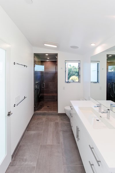 Master bath Photo 9 of Yale St Residence modern home