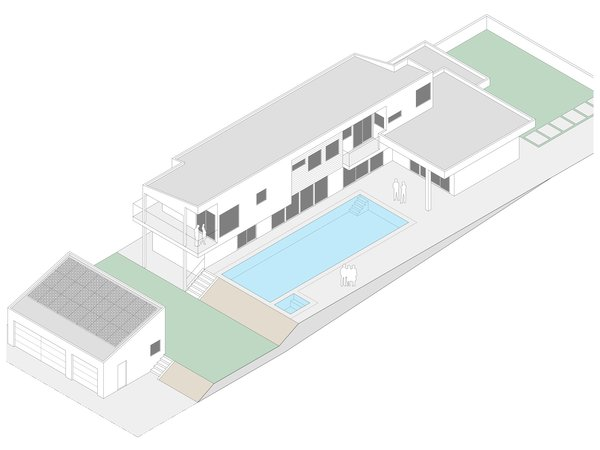 Isometric Photo 10 of Yale St Residence modern home