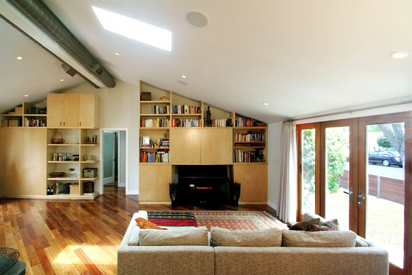 Great room Photo 3 of Superba Ave Residence modern home