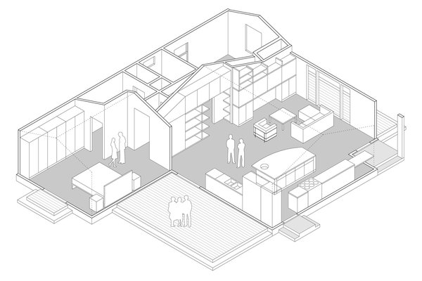 Isometric Photo 9 of Superba Ave Residence modern home