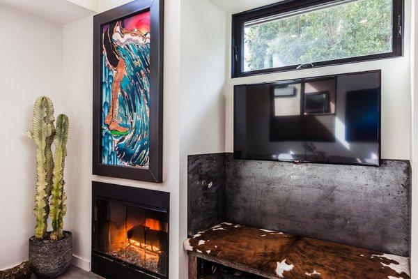 Reclaimed Steel Media Nook Photo 4 of Reclaimed Malibu Modern modern home