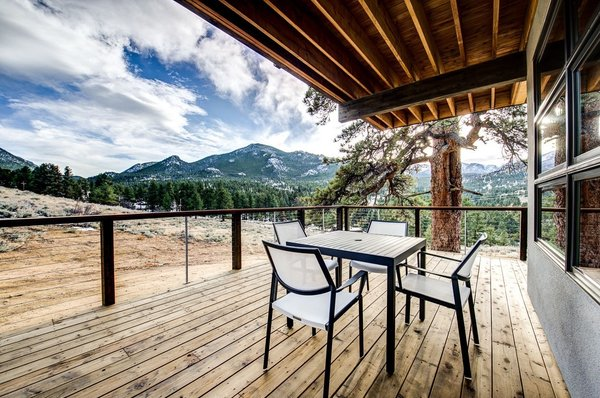 Indoors blend with the outdoors on every side of Ascent. Photo 5 of Ascent Estes Park modern home