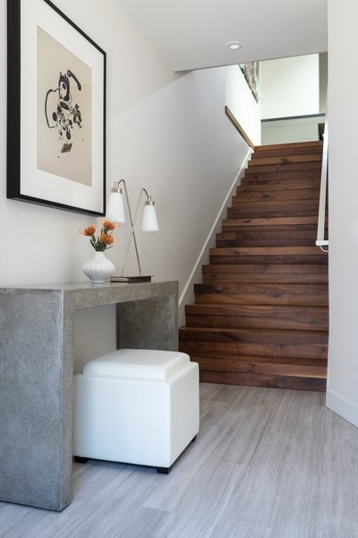 Entry of a remodeled two story home in Cow Hollow Photo 2 of San Francisco, Cow Hollow Remodel modern home