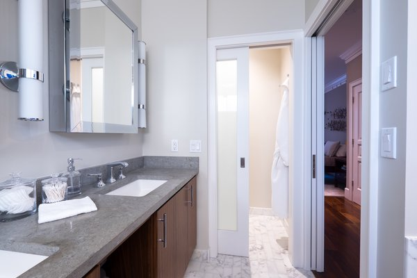 Russian Hill Master Bathroom with Water Closet View Photo 16 of San Francisco, Russian Hill Remodel modern home