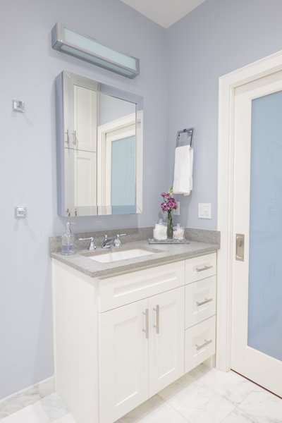 Russian Hill Guest Bathroom  Photo 20 of San Francisco, Russian Hill Remodel modern home
