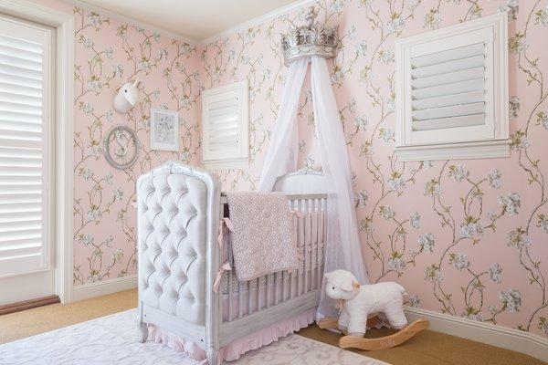 Elegant Nursery Photo  of A Nursery in Los Gatos, California modern home