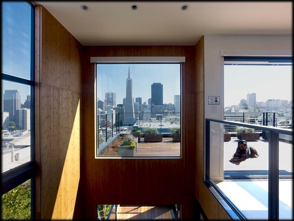 The skyline has changed a bit in the last few years, but it will always be our beloved San Francisco. Photo 3 of Telegraph Hill Bachelor Pad modern home