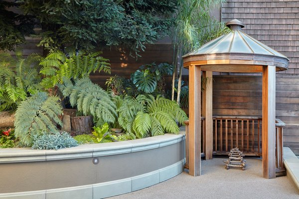 We salvaged the skylight and made a cupola on the playing court for the kids. Photo 4 of Pacific Heights Historic Renovation modern home