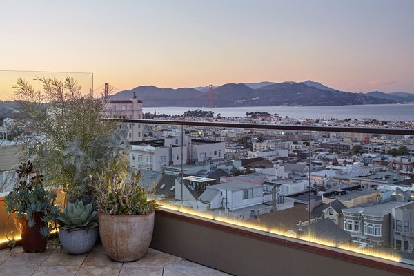 "Back in the day we would to refer to something like this as a ""million dollar view"". Good luck finding the same thing that cheap these days. Photo 9 of Pacific Heights Historic Renovation modern home"