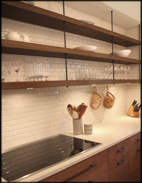 Open shelves Photo  of Annapolis Kitchen modern home