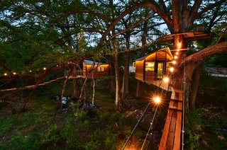 Experience Tree-Top Living at One of These Sustainable Tree Houses - Photo 5 of 15 - The Willow & Juniper tree house by ArtisTree