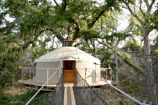 Experience Tree-Top Living at One of These Sustainable Tree Houses - Photo 6 of 15 - The Lofthaven tree house by ArtisTree