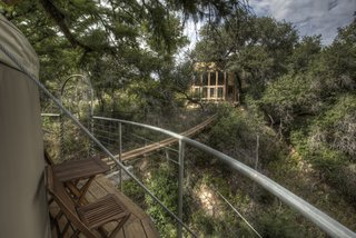 Experience Tree-Top Living at One of These Sustainable Tree Houses - Photo 8 of 15 - The Lofthaven tree house by ArtisTree