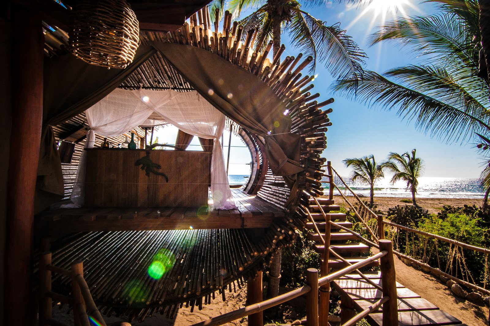 The Playa Viva tree house by ArtisTree  Photo 15 of 16 in Experience Tree-Top Living at One of These Sustainable Tree Houses