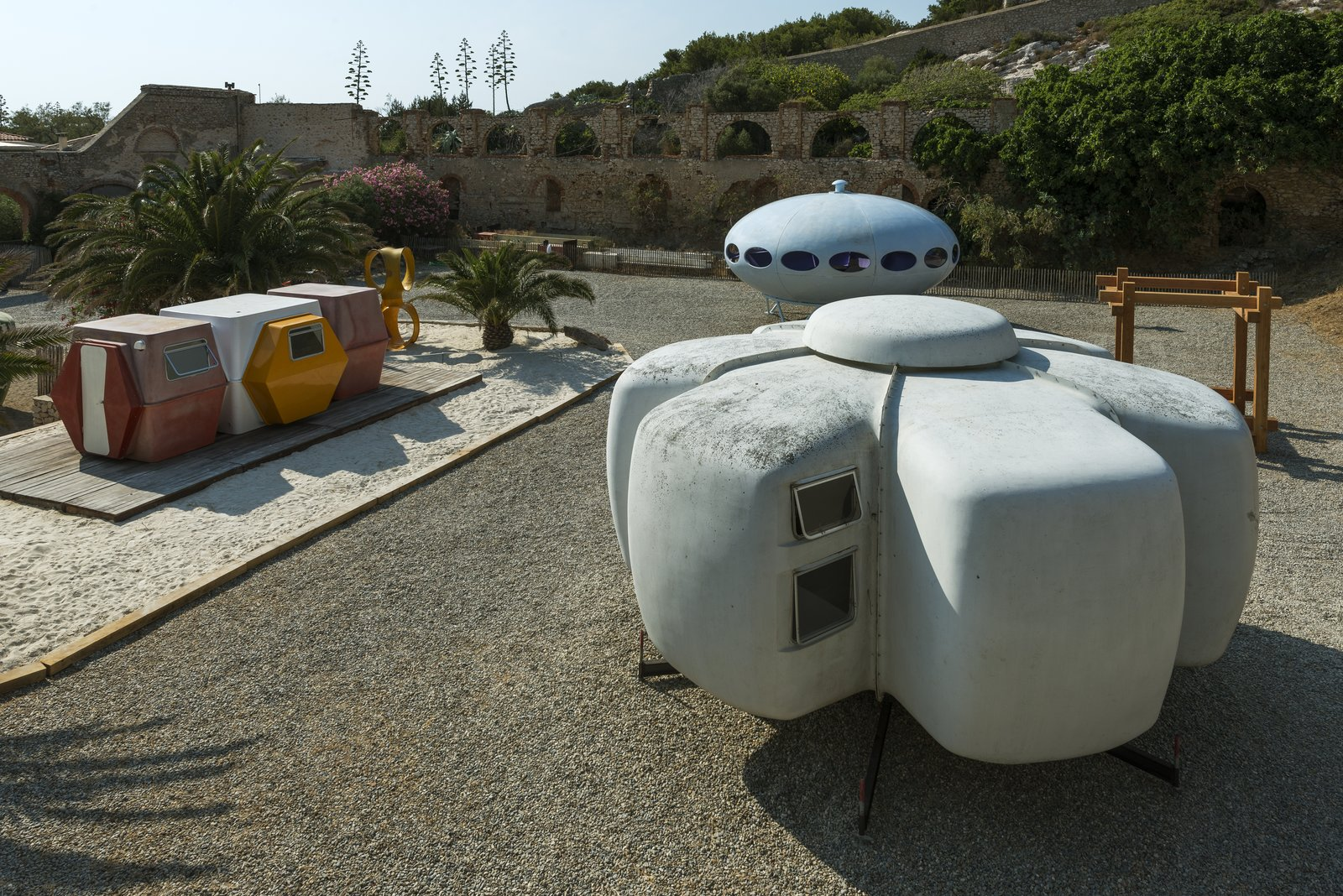 At Utopie Plastic, Futuristic Plastic Homes Make an Appearance at a 19th-Century Metal Factory - Photo 2 of 10