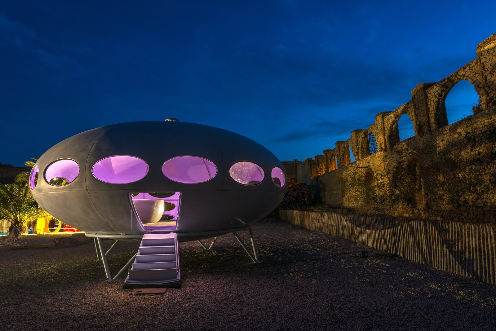 At Utopie Plastic, Futuristic Plastic Homes Make an Appearance at a 19th-Century Metal Factory - Photo 9 of 10