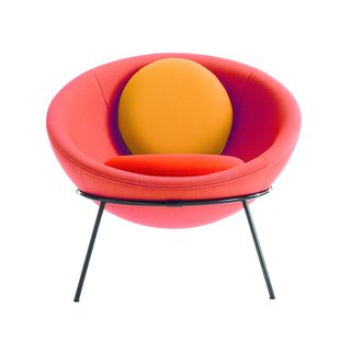 Transformers of the Modern House: Albert Frey and Lina Bo Bardi at the Palm Springs Art Museum - Photo 9 of 10 - The colorful, tropical-inspired new versions of Bo Bardi's Bowl Chair are now being produced by Arper.