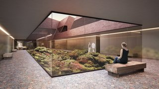A Proposed Icelandic Resort Celebrates Wellness and its Magical Surroundings - Photo 5 of 18 - Interior courtyards bring nature and light into the hotel.