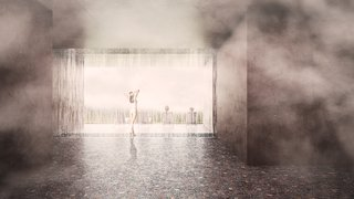 A Proposed Icelandic Resort Celebrates Wellness and its Magical Surroundings - Photo 15 of 18 - A rain shower is yet another feature of the spa facility.