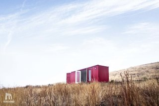 10 Shipping Container Homes You Can Buy Right Now - Photo 6 of 10 - 160-square-foot Writer's Shack by Montainer Homes