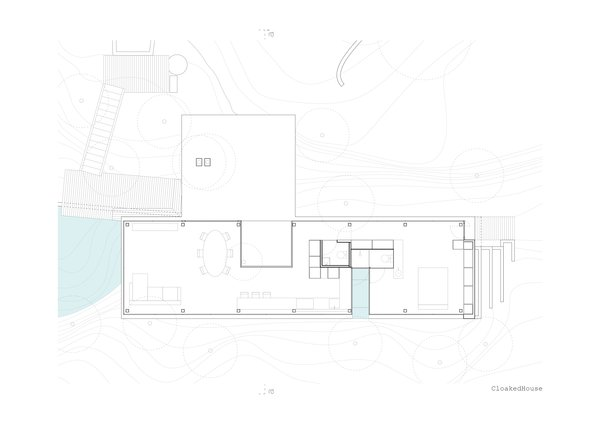 The plan of the Cloaked House.