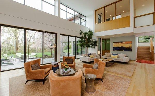 Photo 3 of Sustainable Luxury in Darien modern home