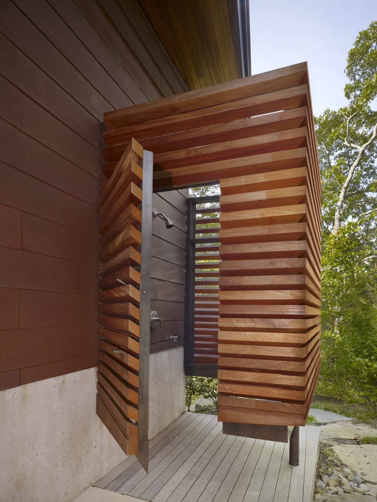 Tagged: Outdoor.  Chilmark Guest House by Charles Rose Architects