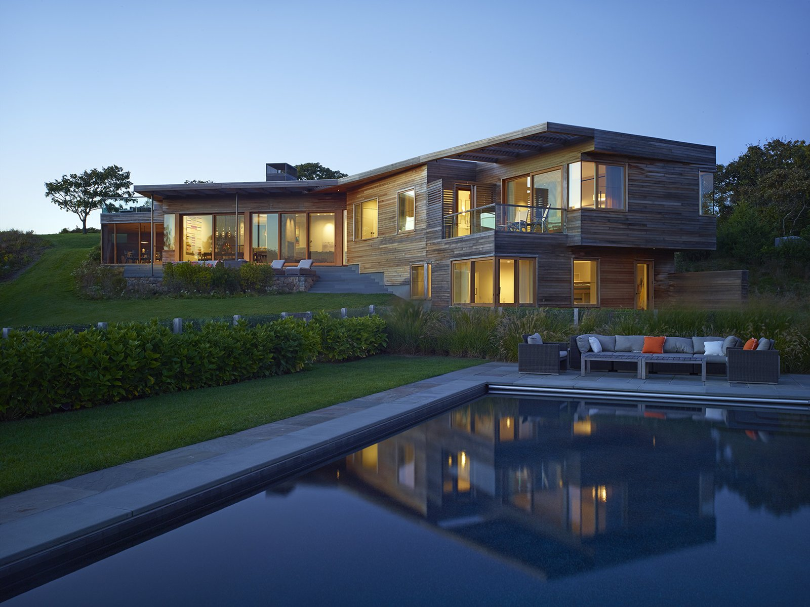Vineyard Farm House by Charles Rose Architects