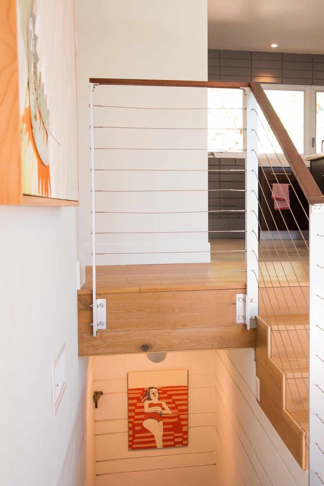 White Oak Flooring + Custom Railing  Edgewood by Christina Micklish