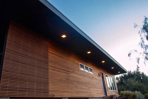 Cedar Siding Photo  of Edgewood modern home