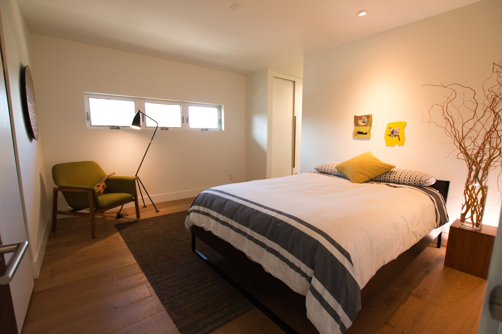 Master Bedroom: His/Her Closets + White Oak Floors  Edgewood by Christina Micklish