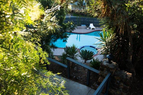Pool + Jacuzzi Photo 5 of Edgewood modern home