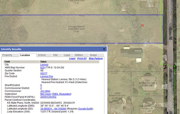 GIS maps can give you a lot of information about specific properties.