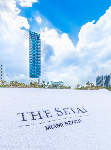 Beach Service Photo 19 of Luxury Townhouse at The Setai Miami Beach modern home