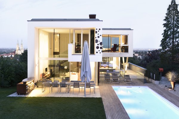 Evening view Photo 3 of H_O modern home