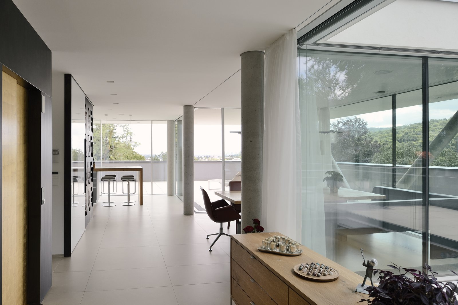 View toward the kitchen  H_O by Architect Zoran Bodrozic